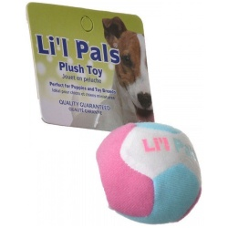 "lil pals multi colored plush ball with bell for dogs 15 diameter 1 250x250 - Lil Pals Multi Colored Plush Ball with Bell for Dogs (1.5"" Diameter)"