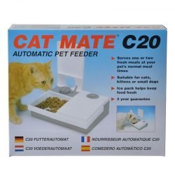 20534 250x250 - Cat Mate Automatic Pet Feeder 2-Bowl 48 Hour (C20 Feeder)