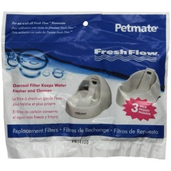 25496 250x250 - Petmate Fresh Flow Replacement Filters (3 Pack)