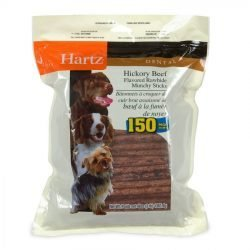 28676 250x250 - Hartz Rawhide Hickory Munchy Sticks - Hickory Beef Flavored (150 Pack)