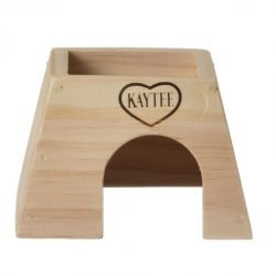 "Kaytee Woodland Get A Way House (Small Mouse [5""L x 4.5""W x 3.25""H])"