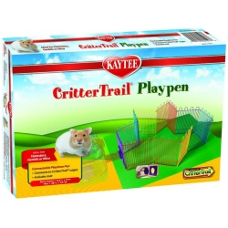 """Kaytee CritterTrail Playpen with Protective Mat (66"""" Long x 9"""" High)"""