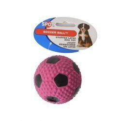 "Spot Socer Ball Stuffed Latex Dog Toy (3.1"" Diameter)"