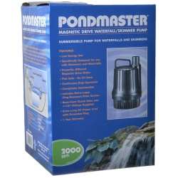 Pondmaster Magnetic Drive Waterfall Pump (2,000 GPH)
