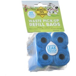 43028 250x250 - Bags on Board Waste Pick Up Refill Bags - Blue (60 Bags)