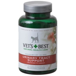 Vets Best Urinary Tract Support for Cats (60 Tablets)