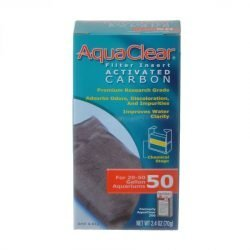 45377 250x250 - Aquaclear Activated Carbon Filter Inserts (For Aquaclear 50 Power Filter)