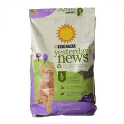 Purina Yesterday's News Soft Texture Cat Litter - Unscented (13 lbs)