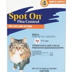 47594 250x250 - Zodiac Spot on Flea Controller for Cats & Kittens (4 Pack)