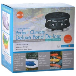 K & H Perfect Climate Delux De-Icer (250 Watts - For Ponds up to 1,000 Gallons)