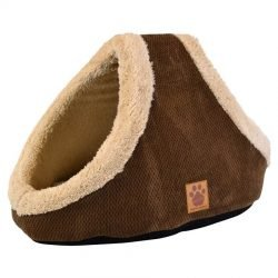 """51805 250x250 - Precision Pet SnooZZy Mod Chic Double Hide & Seek Cat Bed - Coffee (23"""" Long x 14"""" Wide)"""