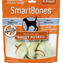 52096 250x250 - SmarBones - Sweet Potato Flavor (Small - Dogs 11-25 Lbs [6 Pack])