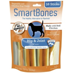 "56136 250x250 - SmartBones Hip & Joint Care Treat Sticks for Dogs - Chicken (16 Pack - [3.75"" Sticks])"