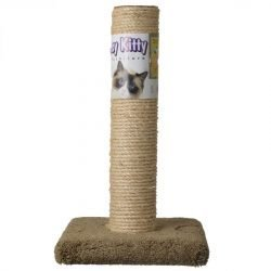 """64508 250x250 - Classy Kitty Cat Sisal Scratching Post (20"""" High [Assorted Colors])"""