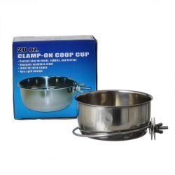 Spot Stainless Steel Coop Cup with Bolt Clamp (20 oz)