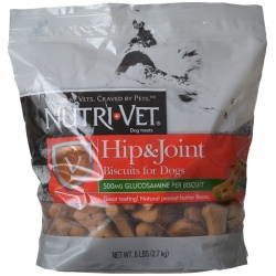 68984 250x250 - Nutri-Vet Hip & Joint Biscuits for Dogs - Extra Strength (6 lbs)