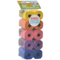 70386 250x250 - Bags on Board Waste Pick Up Refill Bags - Rainbow (140 Bags)