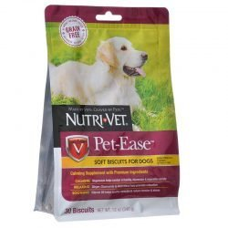 72511 250x250 - Nutri-Vet Pet-Ease Grain Free Soft Biscuits for Dogs (30 Biscuits - [12 oz])