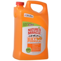 Nature's Miracle Orange Oxy Formula Dual Action Stain & Odor Remover (1.33 Gallons)
