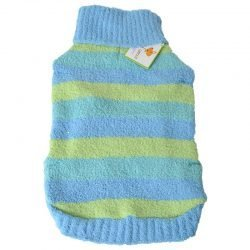 """72577 250x250 - Lookin Good Striped Dog Sweater - Blue (Large - [Fits 19""""-24"""" Neck to Tail])"""