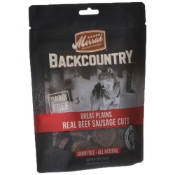 Merrick Backcountry Great Plains Real Beef Sausage Cuts (5 oz)