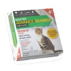 Sentry Advance Guard 2 for Cats (Cats 5-9 lbs - 4 Month Supply)
