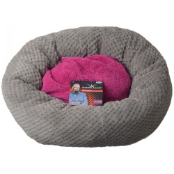 "76833 250x250 - Petmate Jackson Galaxy Comfy Cuddle Up Cat Bed (18"" Diameter)"