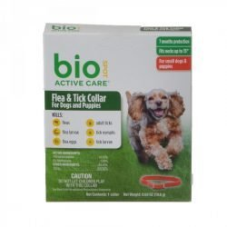 "76851 250x250 - Bio Spot Active Care Flea & Tick Collar for Dogs (Small - 1 Pack - [Necks up to 15""])"