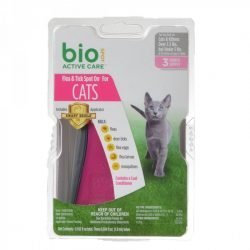 76875 250x250 - Bio Spot Active Care Flea & Tick Spot On for Cats (Cats 2.5-5 lbs - 3 Month Supply)