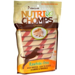 80405 250x250 - Premium Nutri Chomps Chicken Wrapped Twists (15 Count)