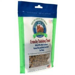 80629 250x250 - Grizzly Super Treats Green Pea & Kelp Crunchy Training Treats with Salmon (5 oz)