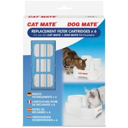 82628 250x250 - Cat Mate Replacement Filter Cartridge for Pet Fountain (6 Count)