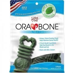 83357 250x250 - Loving Pets Ora-Bone Dental Treat for Dogs (Large - 6 Count)