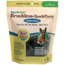 Ark Naturals Breath-Less Brushless Toothpaste (Medium/Large Dogs [18 oz])