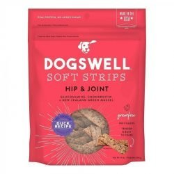 85791 250x250 - Dogswell Soft Strips Hip & Joint Dog Treats - Duck (10 oz)