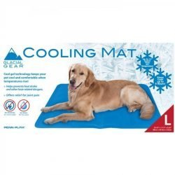 "Penn Plax Glacial Gear Cooling Mat (Large [17.7"" x 35.4""])"