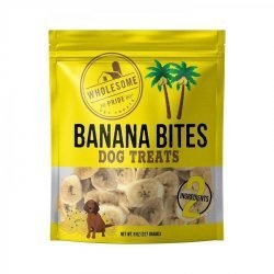 85887 250x250 - Wholesome Pride Banana Bites Dog Treats (8 oz)