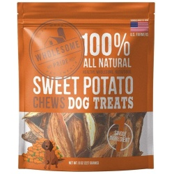 85899 250x250 - Wholesome Pride Sweet Potato Chews Dog Treats (8 oz)
