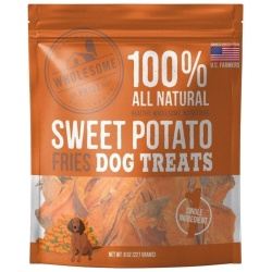 85905 250x250 - Wholesome Pride Sweet Potato Fries Dog Treats (8 oz)