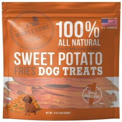 85908 250x250 - Wholesome Pride Sweet Potato Fries Dog Treats (16 oz)