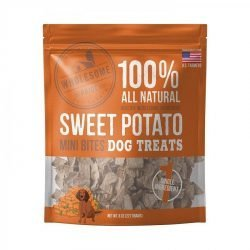 85911 250x250 - Wholesome Pride Sweet Potato Mini Bites Dog Treats (8 oz)
