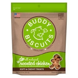 Buddy Biscuits Original Soft and Chewy Dog Treats Roasted Chicken 6 ounces