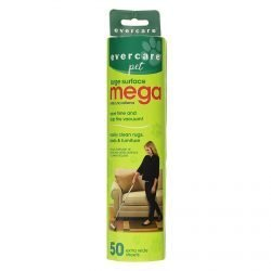 "evercare pet extreme stick mega 50 sheet refill 10 x 275 x 275 250x250 - Evercare Pet Extreme Stick Mega 50 Sheet Refill 10"" x 2.75"" x 2.75"""