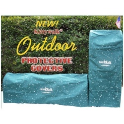 """Kittywalk Outdoor Protective Cover for Kittywalk Curves (2) Green 48"""" x 18"""" x 24"""""""