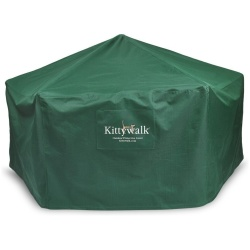 """kittywalk outdoor protective cover for kittywalk gazebo green 70 x 70 38 250x250 - Kittywalk Outdoor Protective Cover for Kittywalk Gazebo Green 70"""" x 70"""" 38"""""""