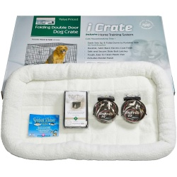 """Midwest iCrate Dog Crate Kit Extra Large 42"""" x 28"""" x 30"""""""