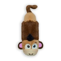 petstages stuffing free lil squeak monkey brown yellow 250x250 - Petstages Stuffing Free Lil' Squeak Monkey Brown / Yellow