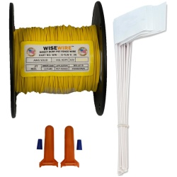 WiseWire 20 gauge Boundary Wire Kit 500ft