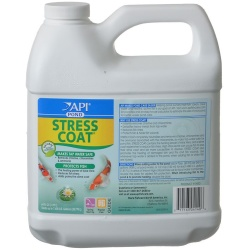 21026 250x250 - PondCare Stress Coat Plus Fish & Tap Water Conditioner for Ponds (64 oz [Treats 7,680 Gallons])