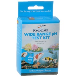 PondCare Liquid Wide Range pH Test Kit (160 Tests)